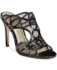 Adrianna Papell Glam Evening Sandals Women's Shoes Black