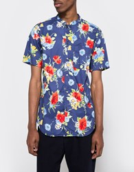 Rough And Tumble Floral Print Studio Shirt Red Floral