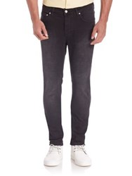 Wesc Regular Fit Jeans Black Concrete