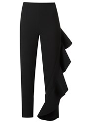 Giuliana Romanno Cropped Trousers Black