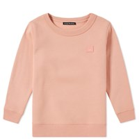 Acne Studios Mini Fairview Face Crew Sweat Pink