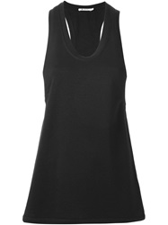 T By Alexander Wang Long Tank Top Black