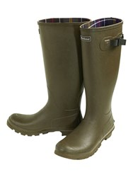 Barbour Bede Wellington Boots Olive