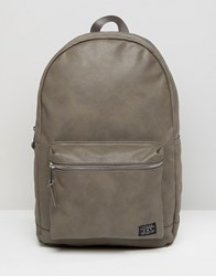 New Look Backpack In Grey Mid Grey
