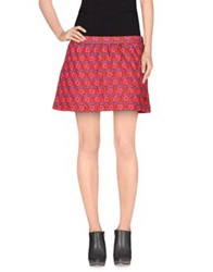 Agatha Ruiz De La Prada Mini Skirts Brown