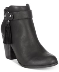 Material Girl Molly Tassel Ankle Booties Only At Macy's Women's Shoes