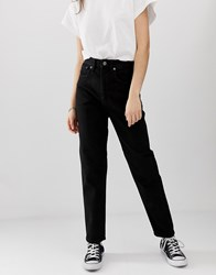 Cheap Monday Donna Mom Jeans Black