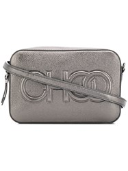 Jimmy Choo Balti Shoulder Bag Metallic