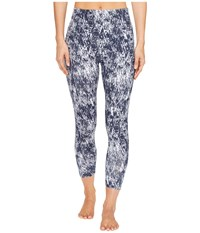 Yummie Tummie Cotton Control Andy Skimmer Dark Sapphire Peeled Paint Print Women's Casual Pants Gray
