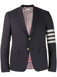 Thom Browne 4 Bar Notched Lapel Blazer 60