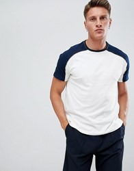 Pier One Piping T Shirt In Navy