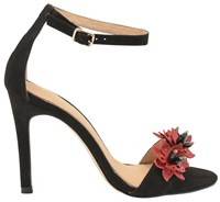 Ravel Conway Stiletto Heeled Court Shoes Black And Red Black And Red