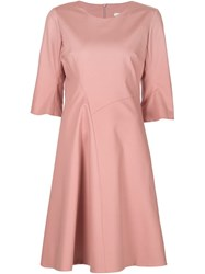 Dorothee Schumacher 'Bold Silhouette' Dress Pink And Purple
