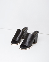 Robert Clergerie Astro Mule Black