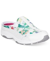 Easy Spirit Traveltime Sneakers Women's Shoes Light Natural Floral