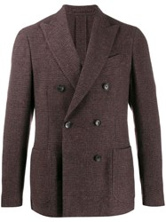 Dell'oglio Double Breasted Jacket Red