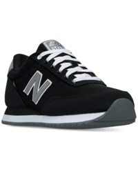 New Balance Men's 501 Casual Sneakers From Finish Line Black Gunmetal