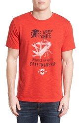 Men's Victorinox Swiss Army 'Craftsman' Slim Fit Graphic T Shirt
