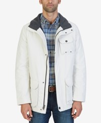 Nautica Men's Multi Pocket Parka Silvrbirch