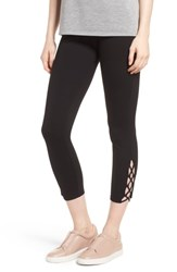 Lysse Clio Laced Ankle Leggings Black