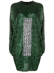 Gianluca Capannolo Sequined Dress Green