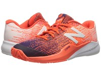 New Balance Mc996v3 Black Plum Alpha Orange Men's Tennis Shoes