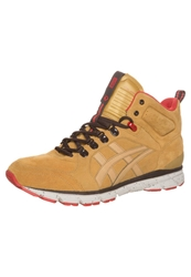 Onitsuka Tiger By Asics Onitsuka Tiger Harandia Hightop Trainers Honey Mustard Dark Yellow