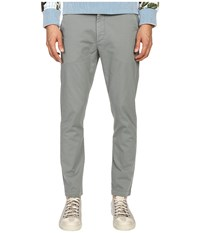 Vivienne Westwood Anglomania Classic Chino Pants Grey Men's Casual Pants Gray