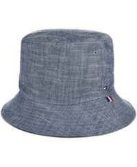 Tommy Hilfiger Men's Chambray Cotton Bucket Hat