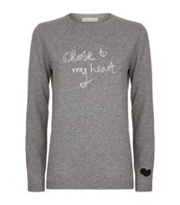 Bella Freud Close To My Heart Jumper Female Light Grey