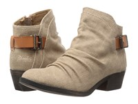 Blowfish Seastie Desert Sand Rancher Canvas Dyecut Pu Women's Boots Beige
