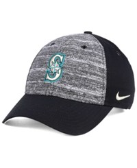Nike Seattle Mariners New Day Easy Adjustable Cap Black Heather Gray