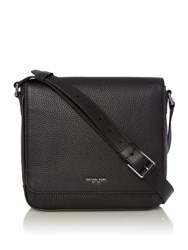 Michael Kors Flap Messenger Bag Black