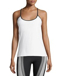 X By Gottex Colorblock Performance Tank White
