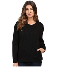Joe's Jeans Berit Sweatshirt Black Women's Sweatshirt