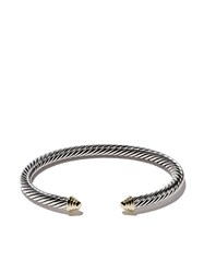 David Yurman Cable Classics Sterling Silver And 14Kt Yellow Gold Metallic