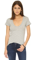 James Perse Casual Tee Heather Grey