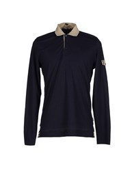 Daks London Polo Shirts Dark Blue