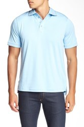 English Laundry Contrast Trim Polo Blue