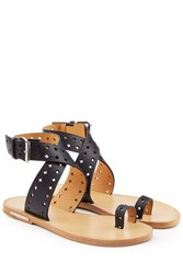 Etoile Isabel Marant Perforated Leather Sandals