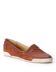 Frye Melanie Vintage Leather Flats Brown