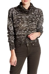 Romeo And Juliet Couture Marled Turtleneck Sweater Green