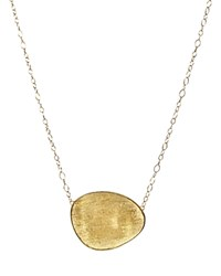 Marco Bicego 18K Yellow Gold Lunaria Pendant Necklace 16.5