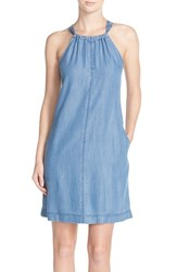 Women's Kut From The Kloth Denim Halter Shift Dress