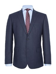 Paul Costelloe Monmouth Check Wool Two Piece Suit Blue