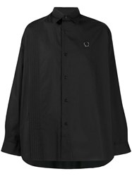 Fred Perry Raf Simons X Pleated Panel Shirt 60