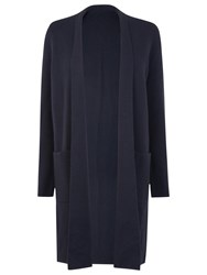 Lk Bennett L.K. Chay Long Wrap Cardigan Blue