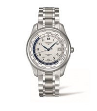 Longines Master Collection Stainless Steel Watch Unisex Silver