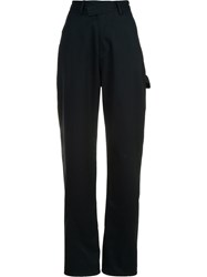 Rosie Assoulin High Waisted Trousers Black