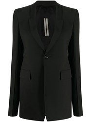 Rick Owens Tailored Single Breasted Blazer 60